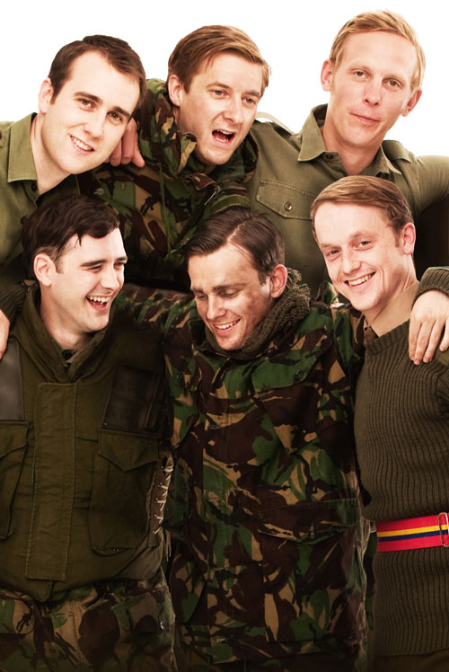 The cast of Our Boys, West End production 2012